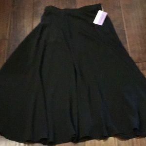 Liz Claiborne Petite Size 8 Skirt Black